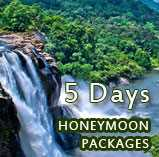 Honeymoon packages in kerala for 5 days